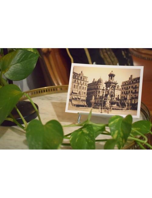 Carte postale restaurée :...